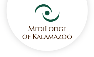 Medilodge of kalamazoo web logo